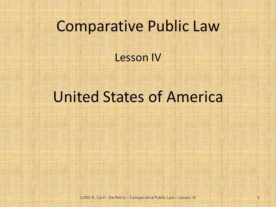 Comparative Public Law