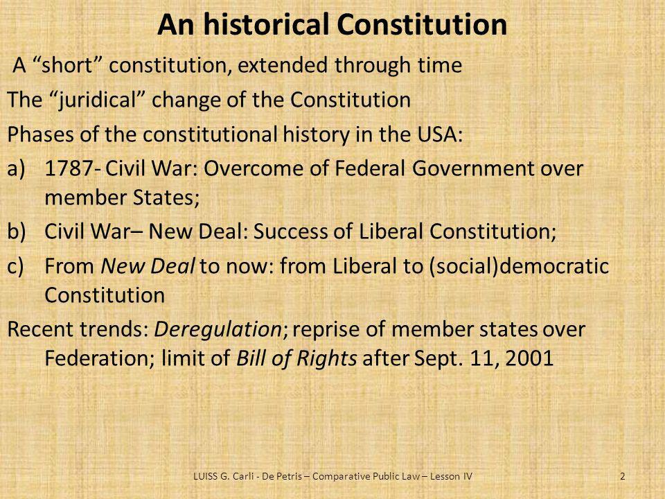 An historical Constitution