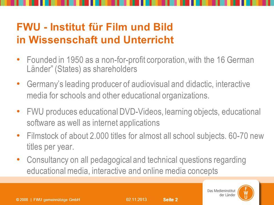 FWU - Institut für Film und Bild in Wissenschaft und Unterricht