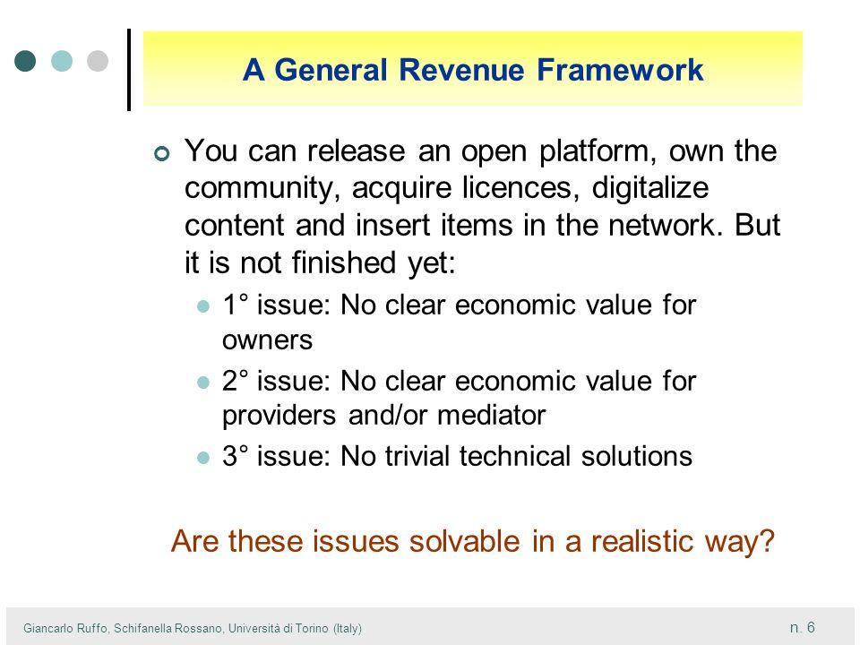 A General Revenue Framework
