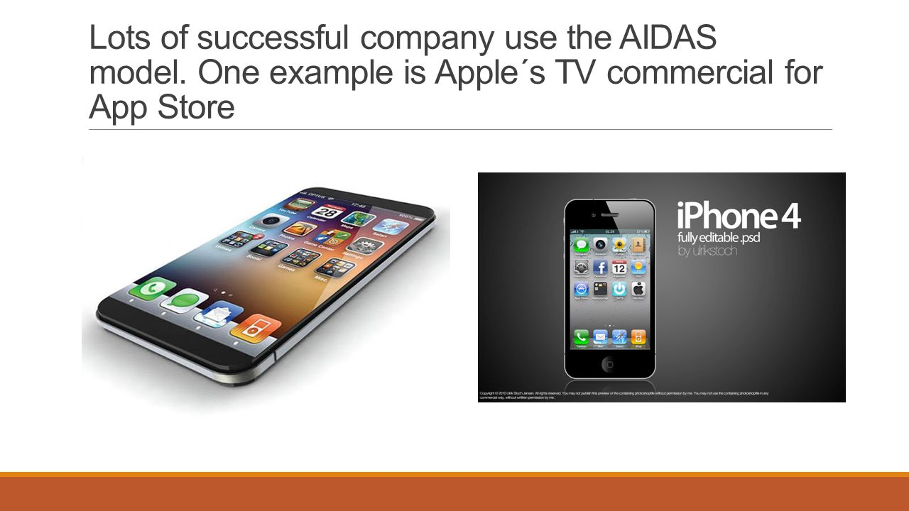 Lots of successful company use the AIDAS model