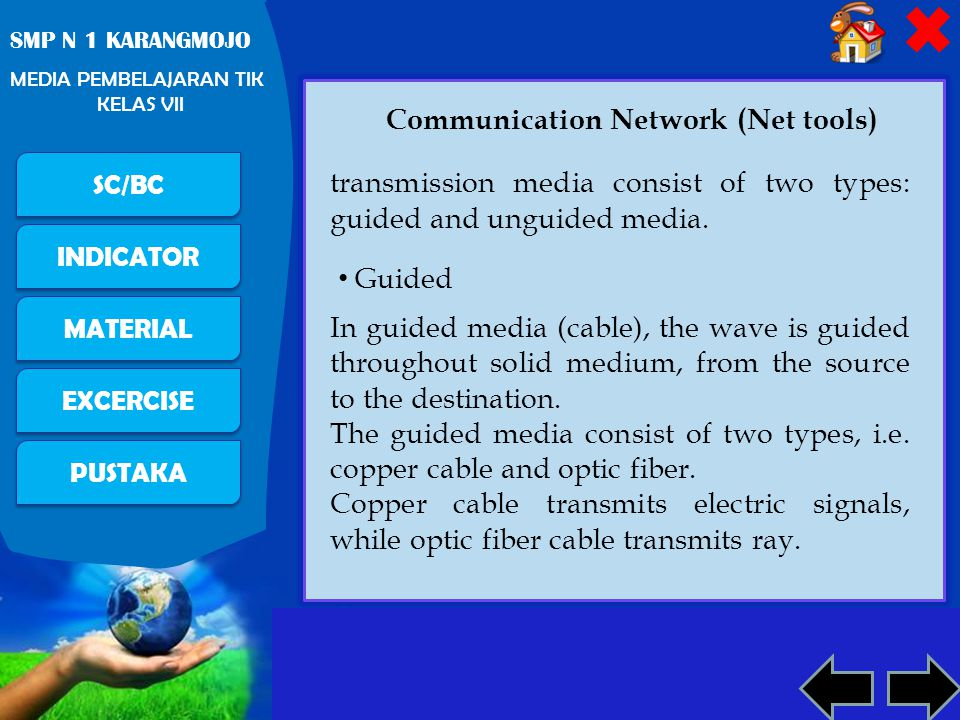 Communication Network (Net tools)