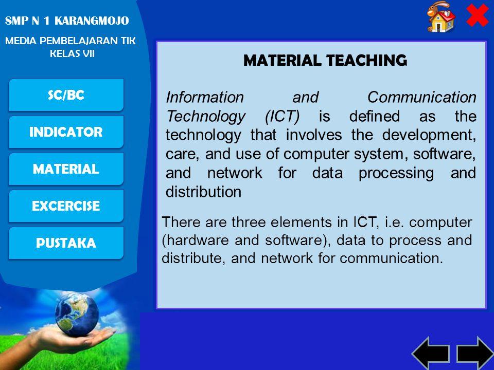 MATERIAL TEACHING