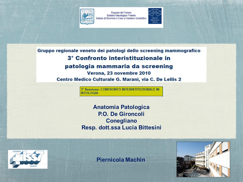 Resp. dott.ssa Lucia Bittesini