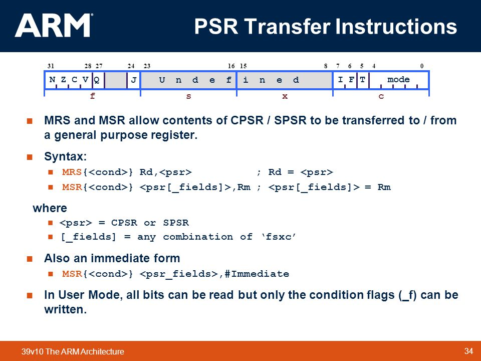 PSR Transfer Instructions