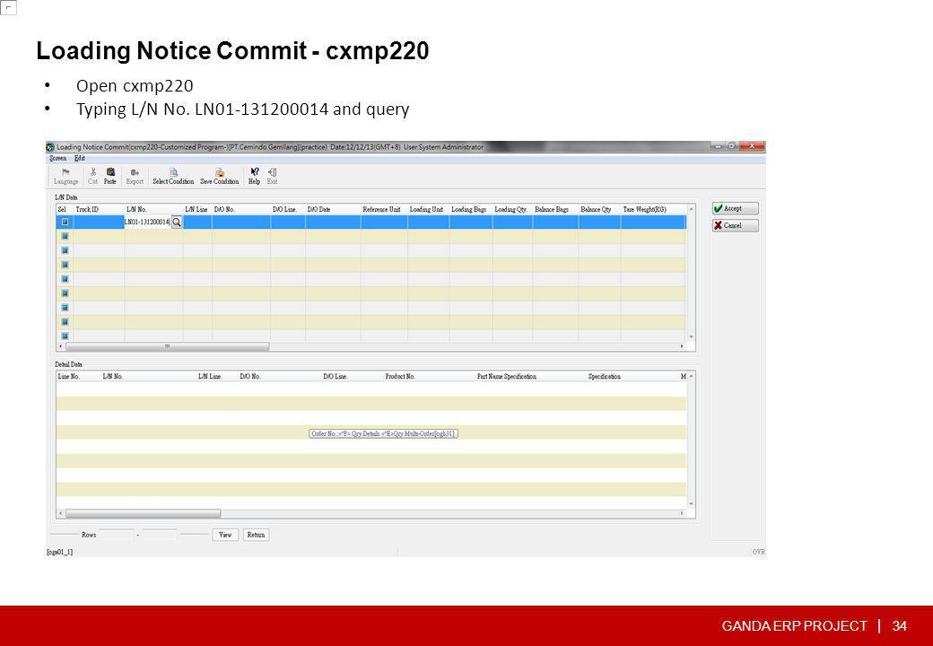 Loading Notice Commit - cxmp220