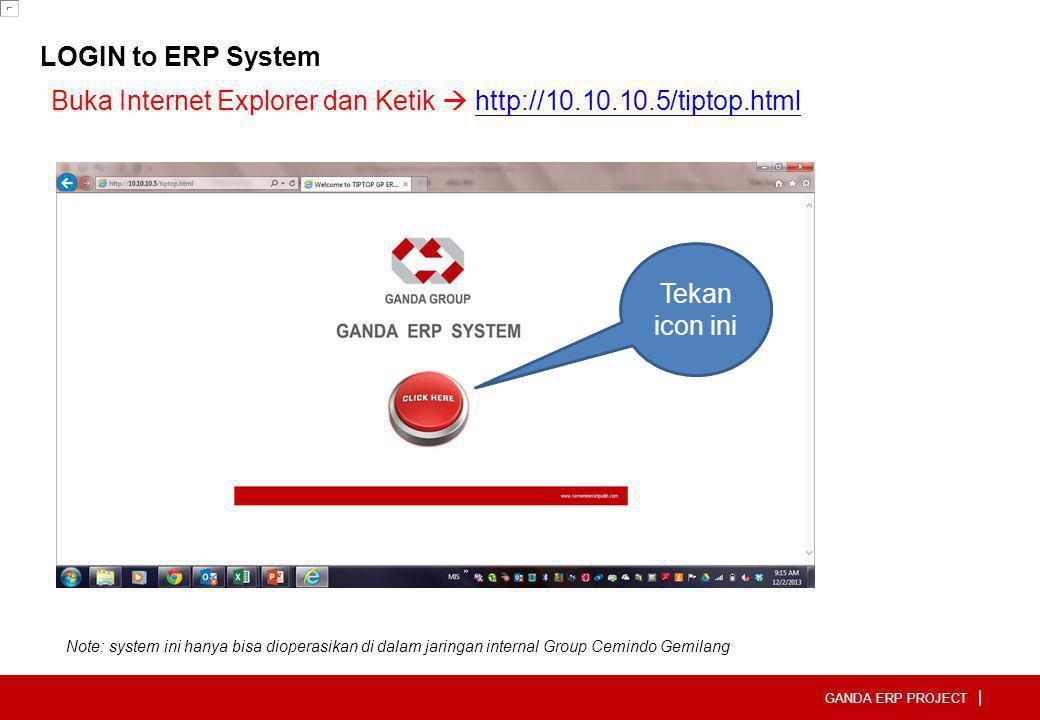 Buka Internet Explorer dan Ketik  http://10.10.10.5/tiptop.html