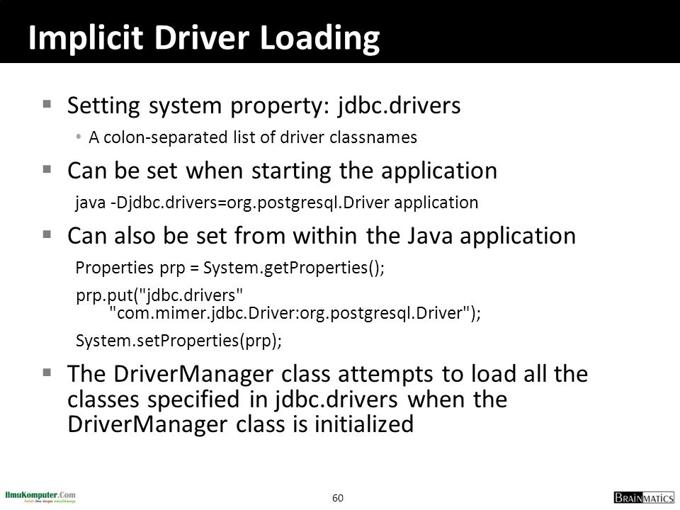 Implicit Driver Loading