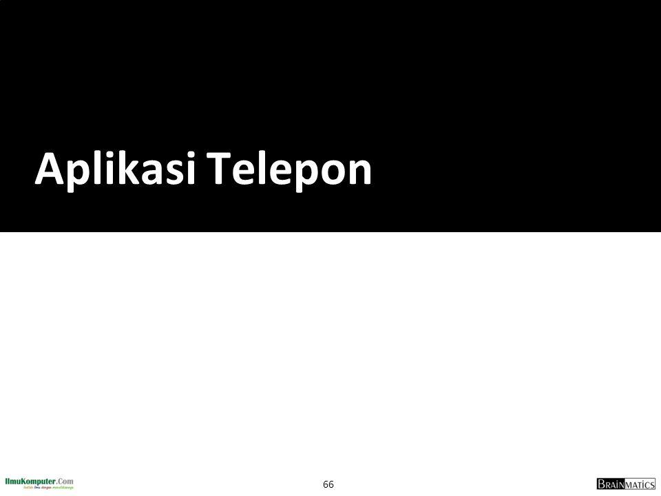 Aplikasi Telepon