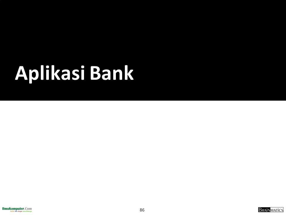Aplikasi Bank