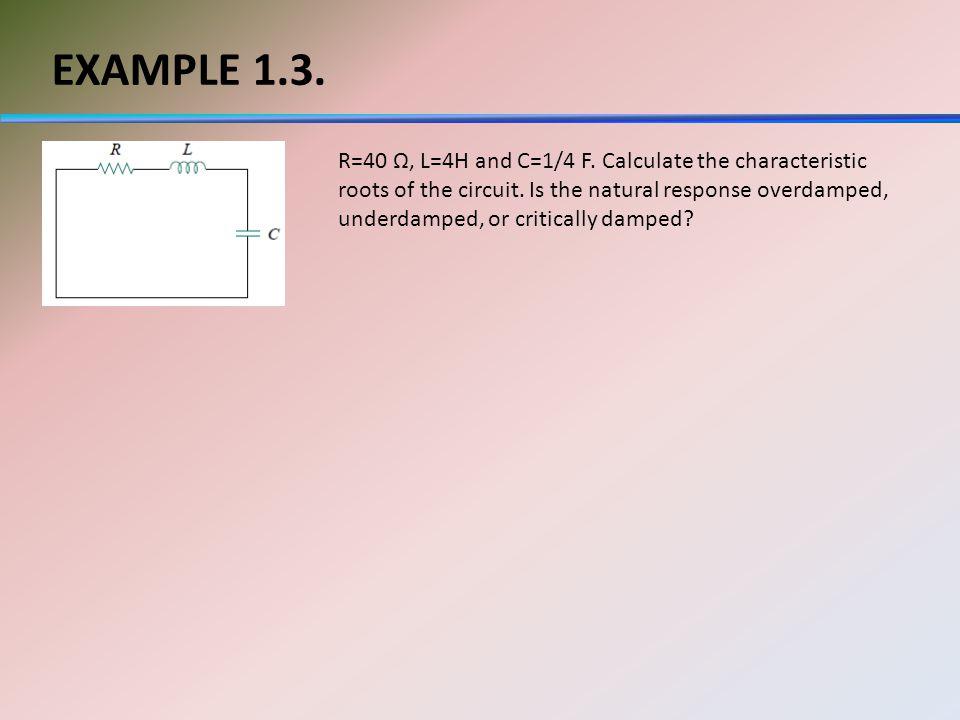 EXAMPLE 1.3.
