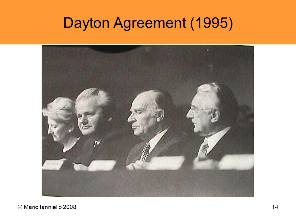 Dayton Agreement (1995) © Mario Ianniello 2008
