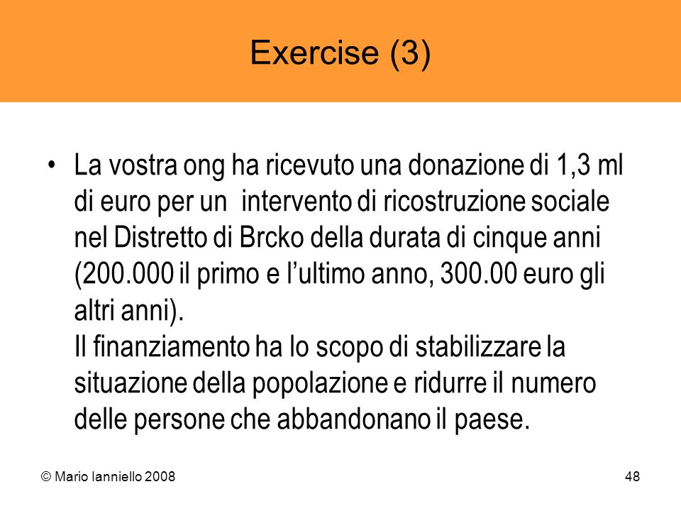 Exercise (3)