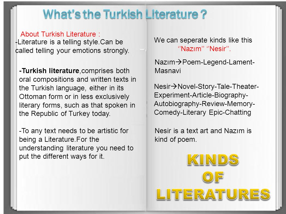 What's the Turkish Literature