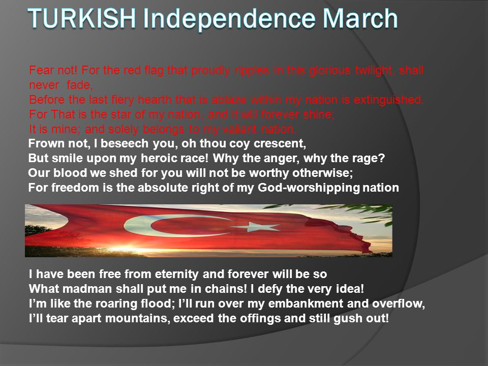 TURKISH Independence March