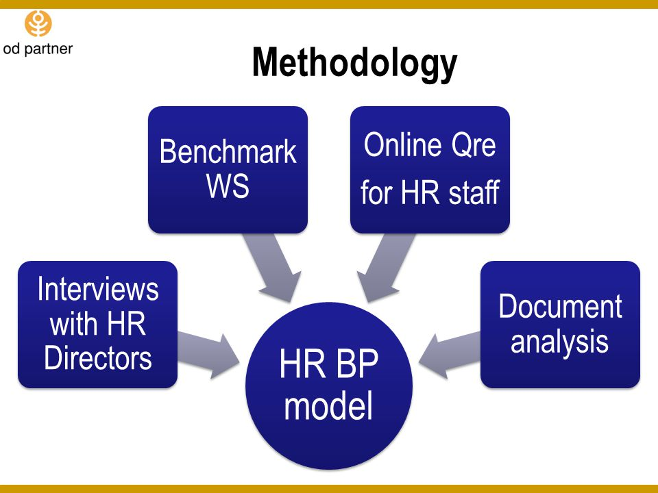 Interviews with HR Directors