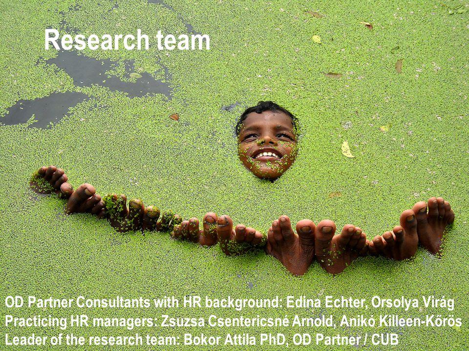 Research team OD Partner Consultants with HR background: Edina Echter, Orsolya Virág.