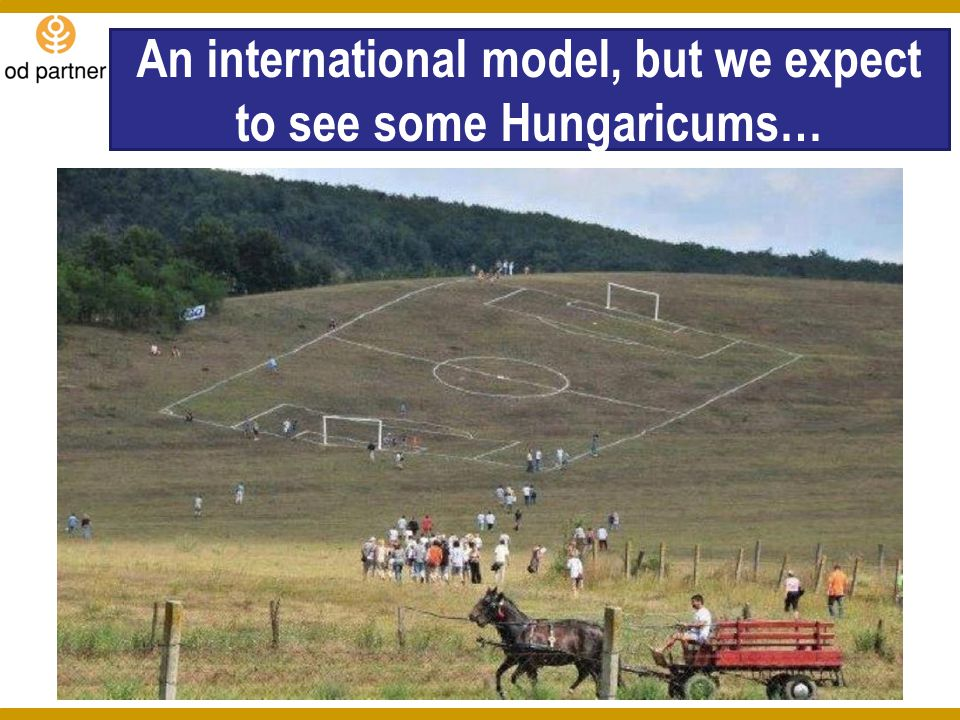 An international model, but we expect to see some Hungaricums…