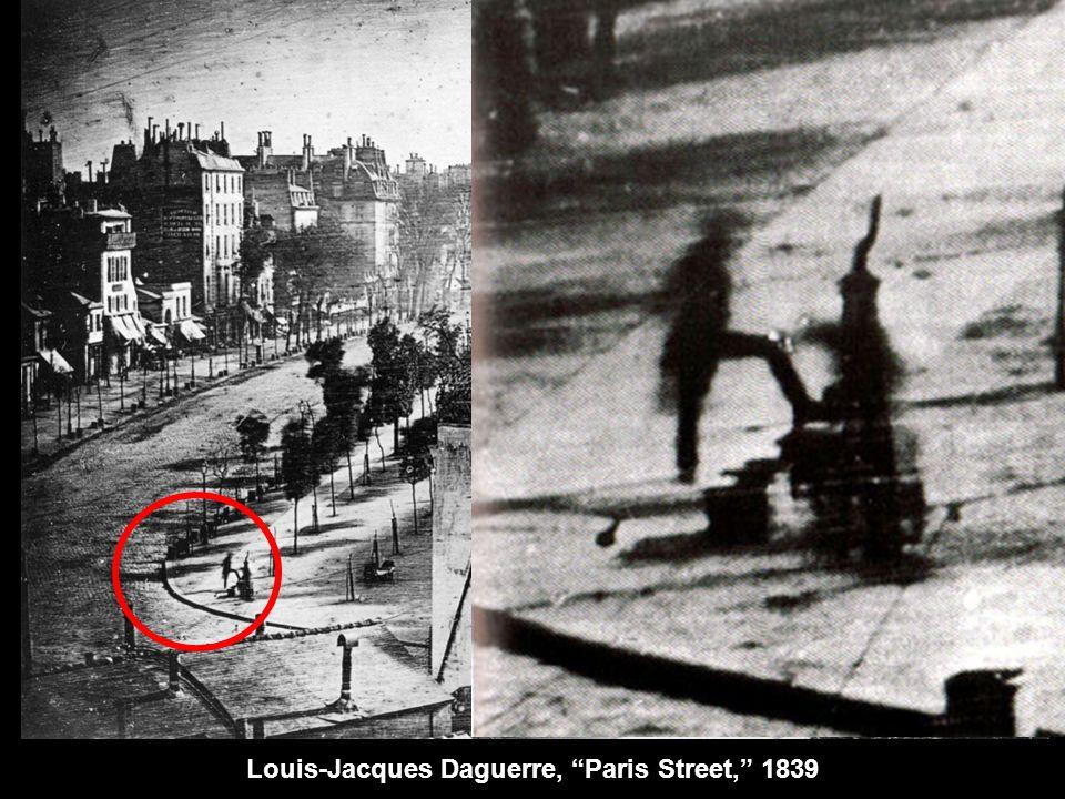 Louis-Jacques Daguerre, Paris Street, 1839