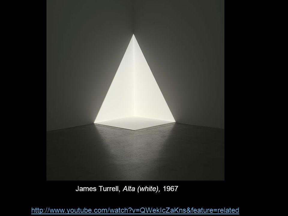 James Turrell, Alta (white), 1967