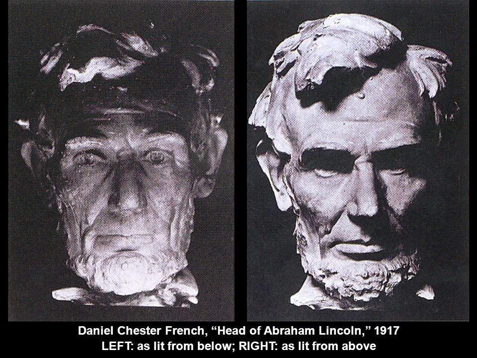 Daniel Chester French, Head of Abraham Lincoln, 1917