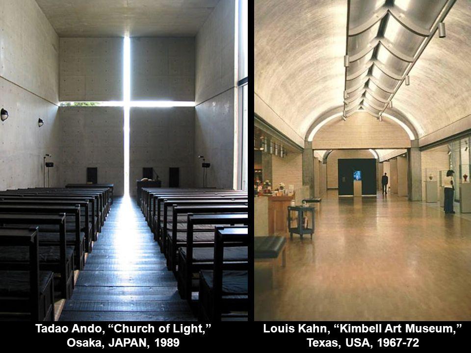 Tadao Ando, Church of Light, Osaka, JAPAN, 1989