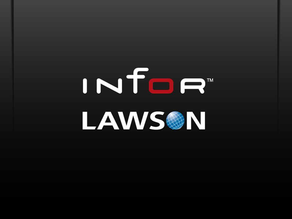 Copyright © 2011 Lawson. All rights reserved.