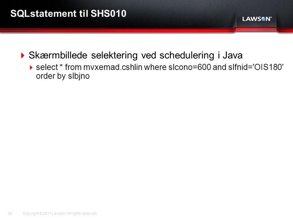 Skærmbillede selektering ved schedulering i Java
