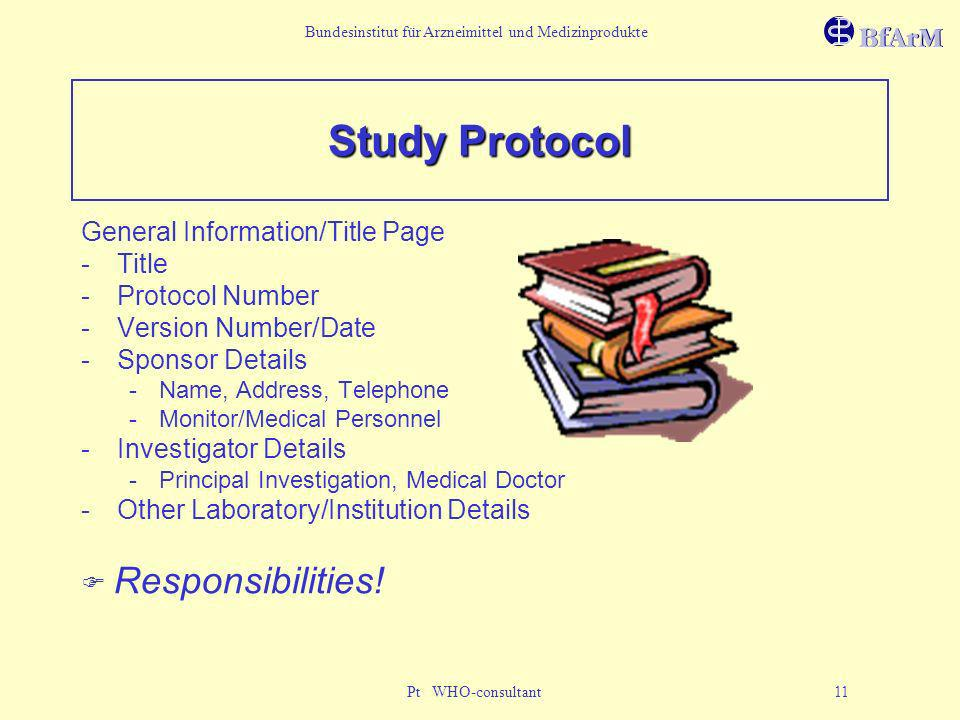 Study Protocol General Information/Title Page Title Protocol Number