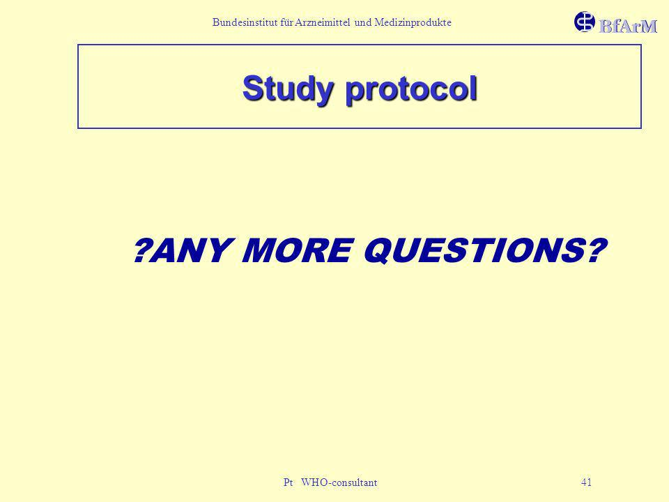 Study protocol ANY MORE QUESTIONS