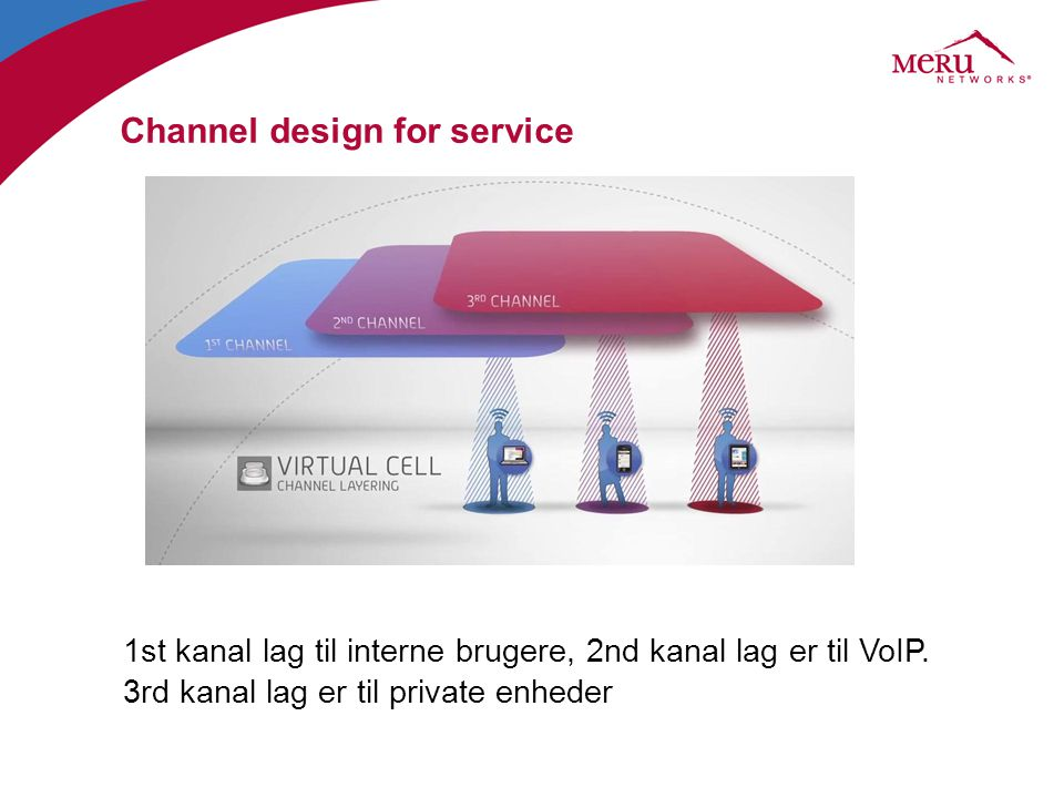 Channel design for service