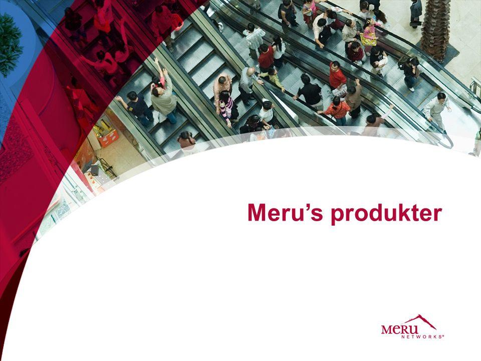 Meru's produkter