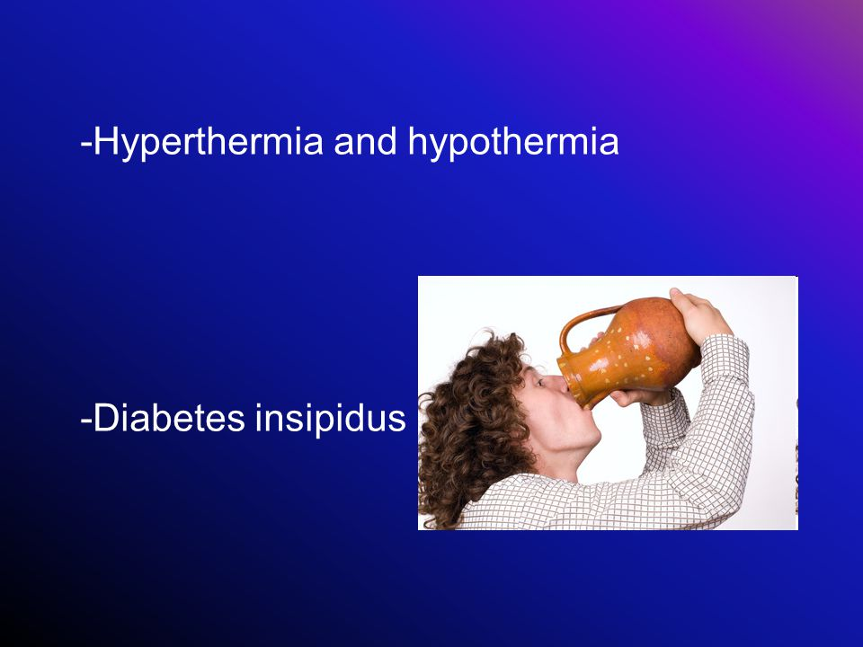 -Hyperthermia and hypothermia