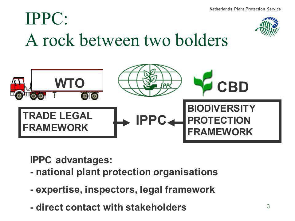 IPPC: A rock between two bolders