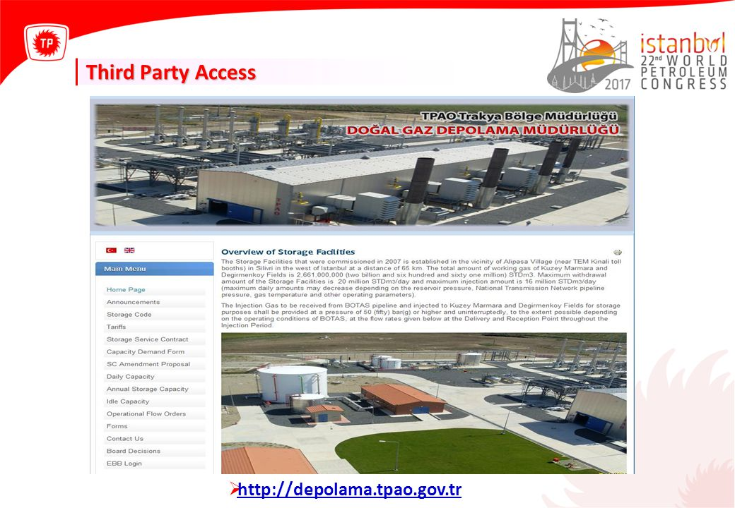 Third Party Access http://depolama.tpao.gov.tr