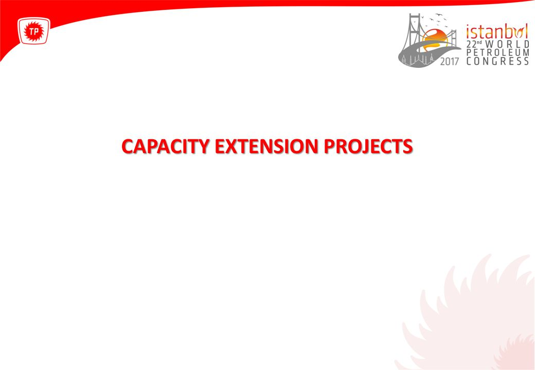 CAPACITY EXTENSION PROJECTS
