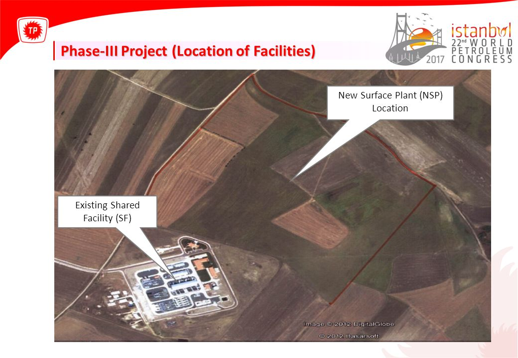 Phase-III Project (Location of Facilities)