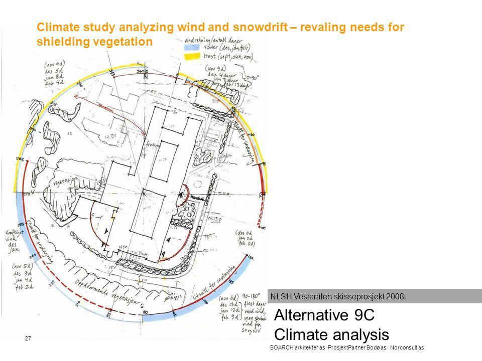 Alternative 9C Climate analysis