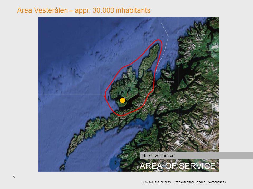 AREA OF SERVICE Area Vesterålen – appr. 30.000 inhabitants