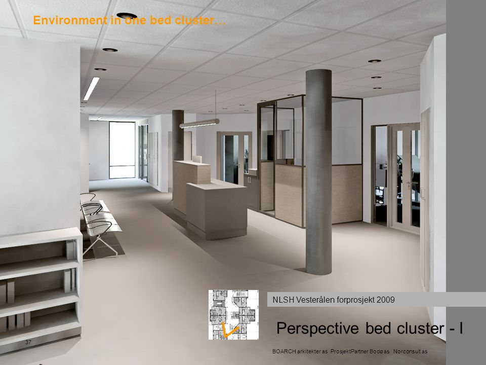 Perspective bed cluster - I