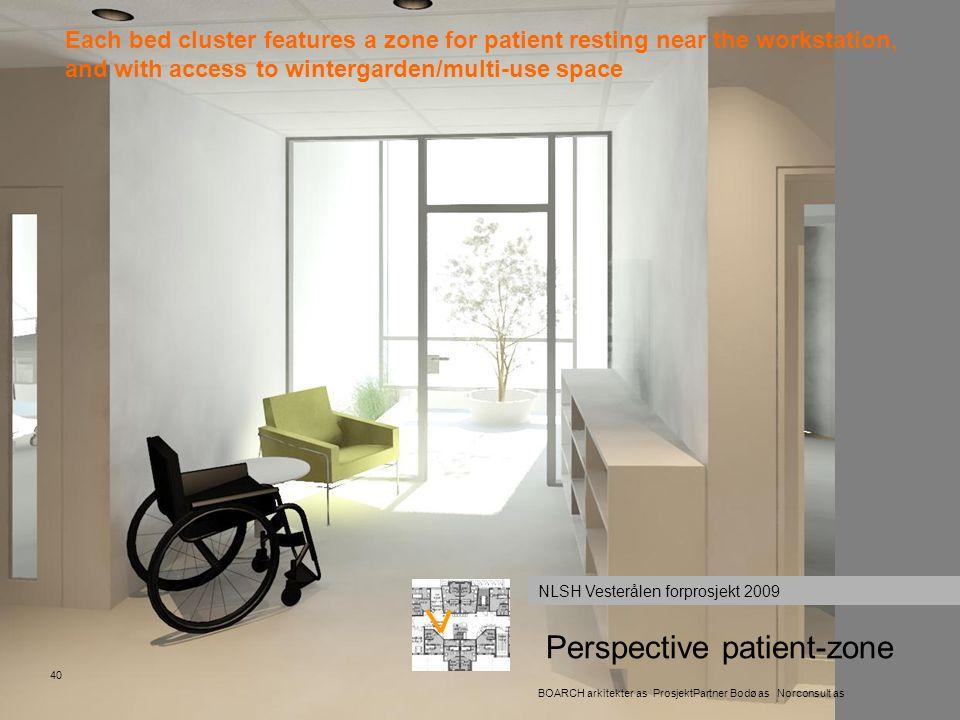 Perspective patient-zone
