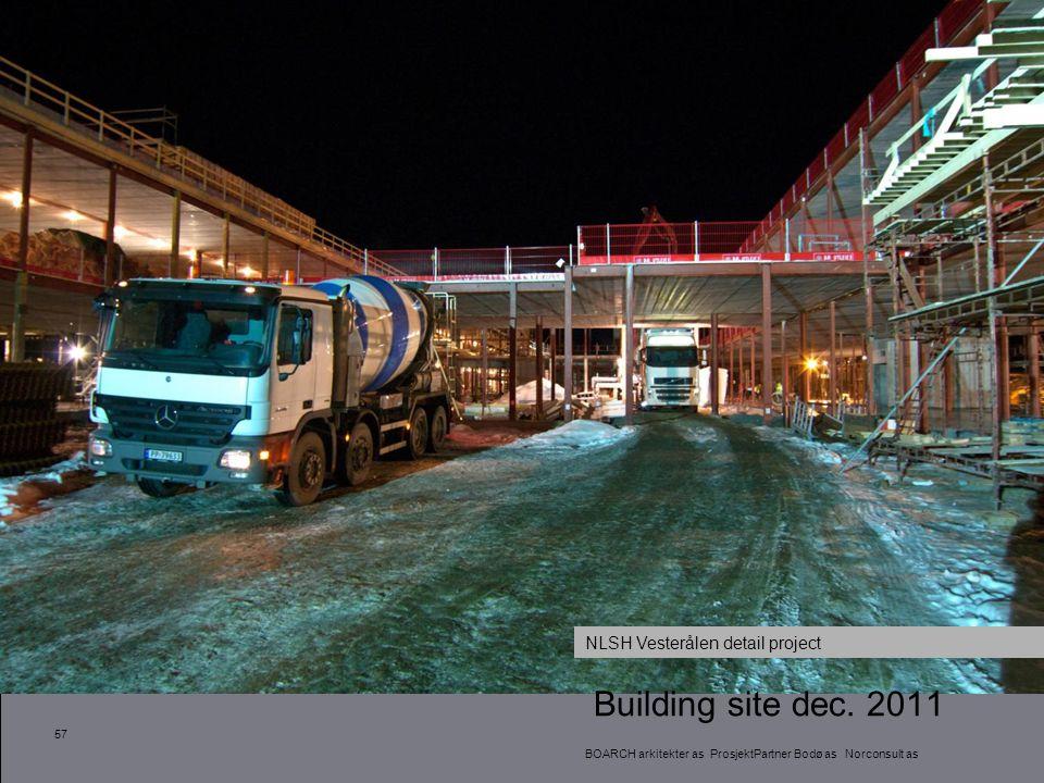 Building site dec. 2011 NLSH Vesterålen detail project 57