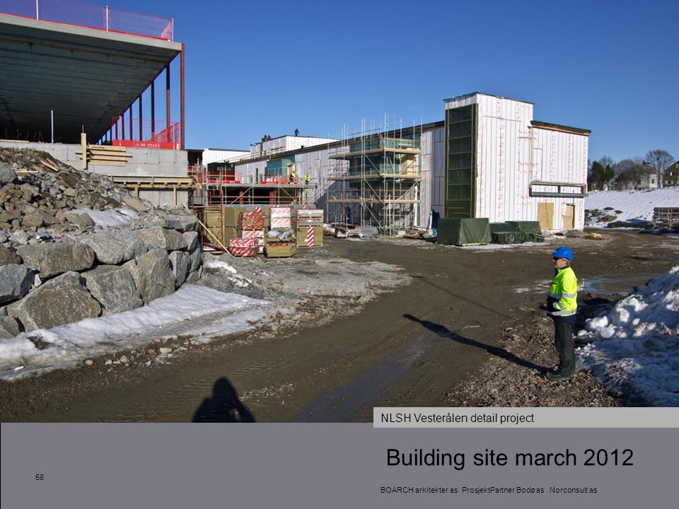 Building site march 2012 NLSH Vesterålen detail project 58