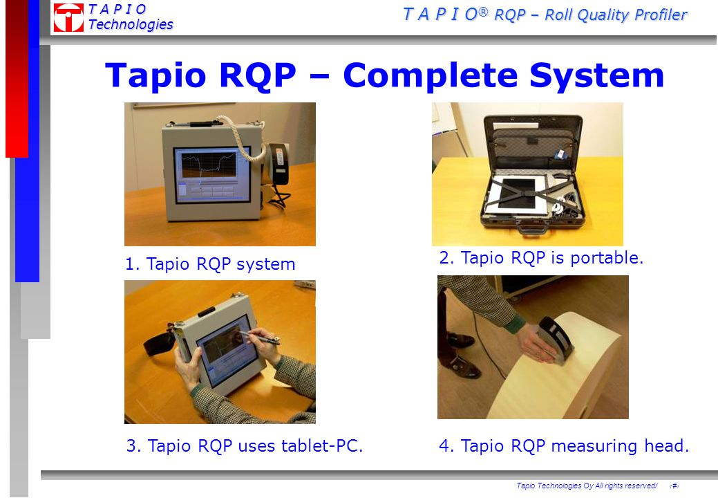 Tapio RQP – Complete System