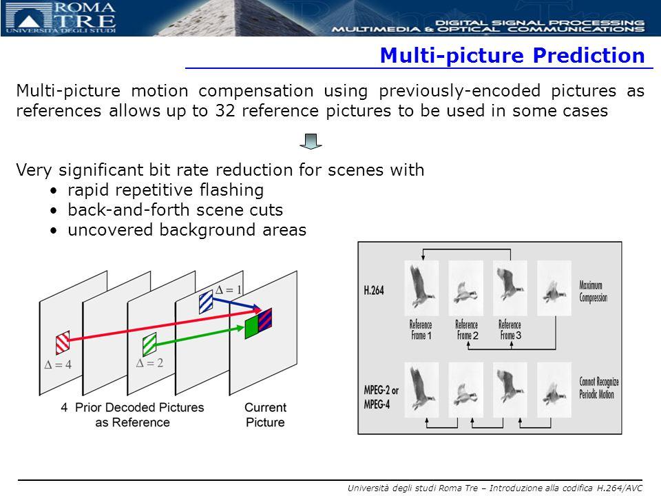 Multi-picture Prediction
