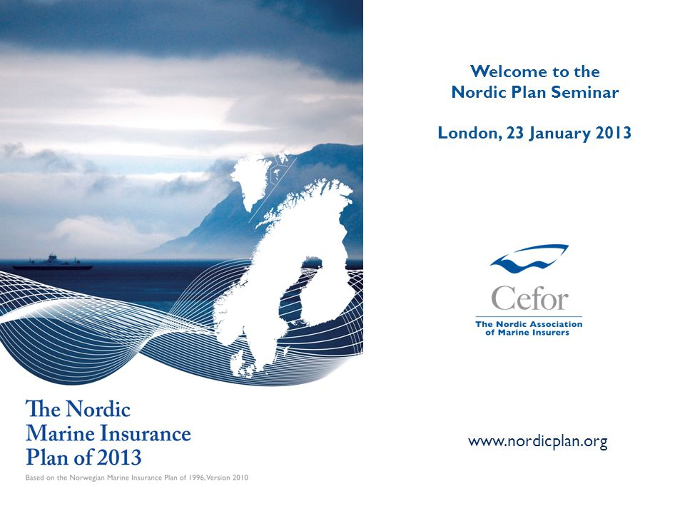 Welcome to the Nordic Plan Seminar