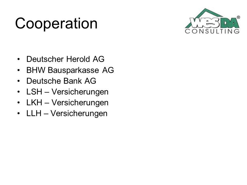Cooperation Deutscher Herold AG BHW Bausparkasse AG Deutsche Bank AG