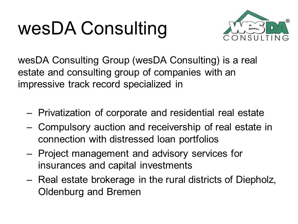 wesDA Consulting