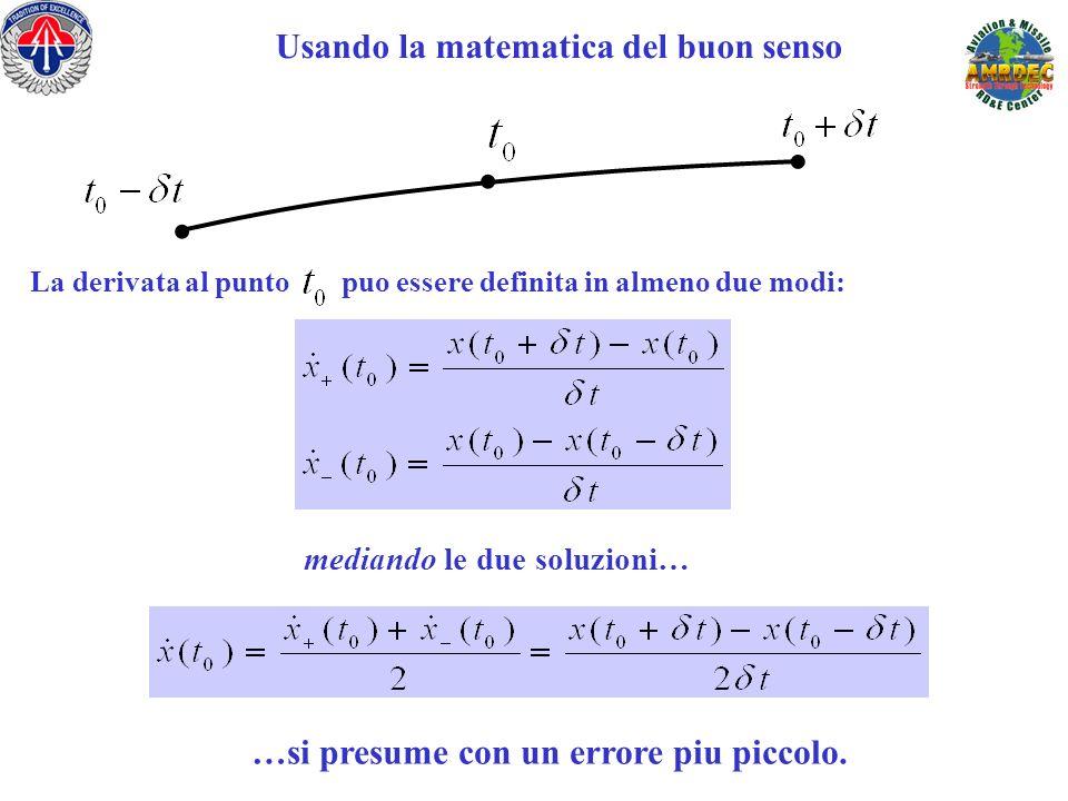 . . . Usando la matematica del buon senso