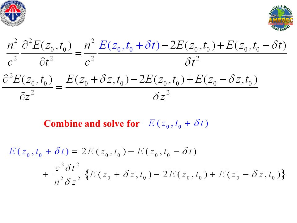 Combine and solve for